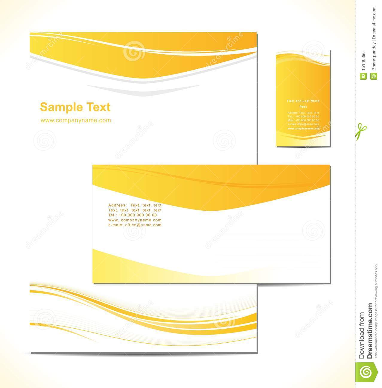 Vector illustresion is a letterhead template desig stock vector vector illustresion is a letterhead template desig spiritdancerdesigns Image collections