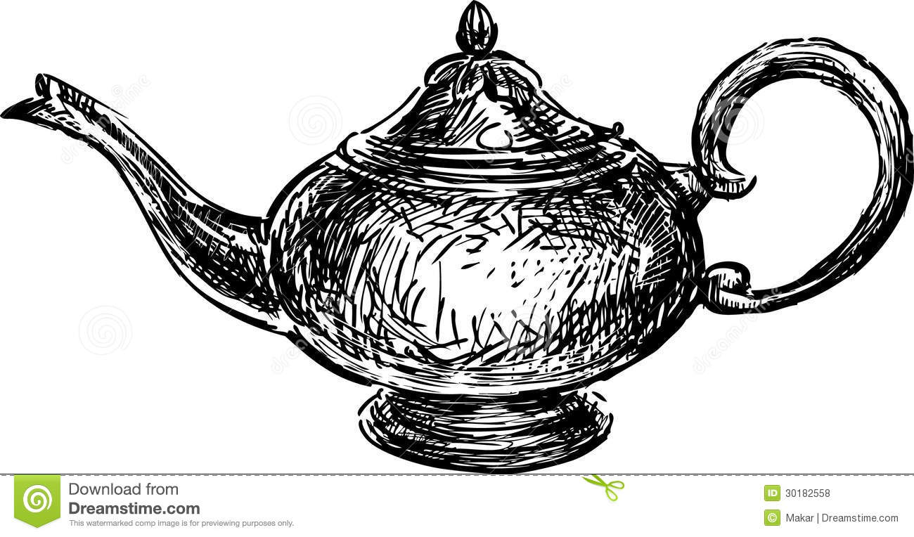 Teapot In East Style Royalty Free Stock Photos - Image ...