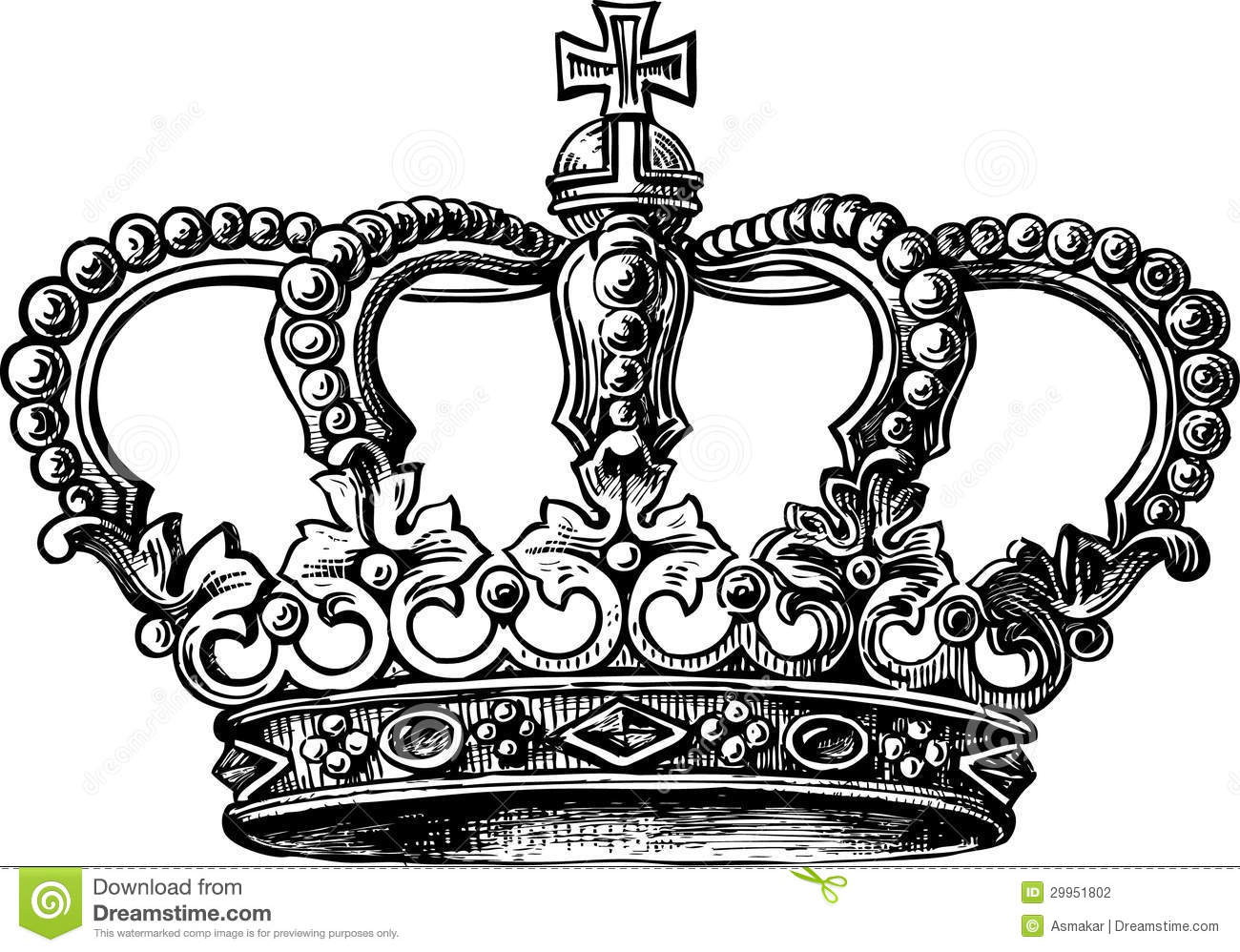 The gallery for --> Royal Crown Drawing