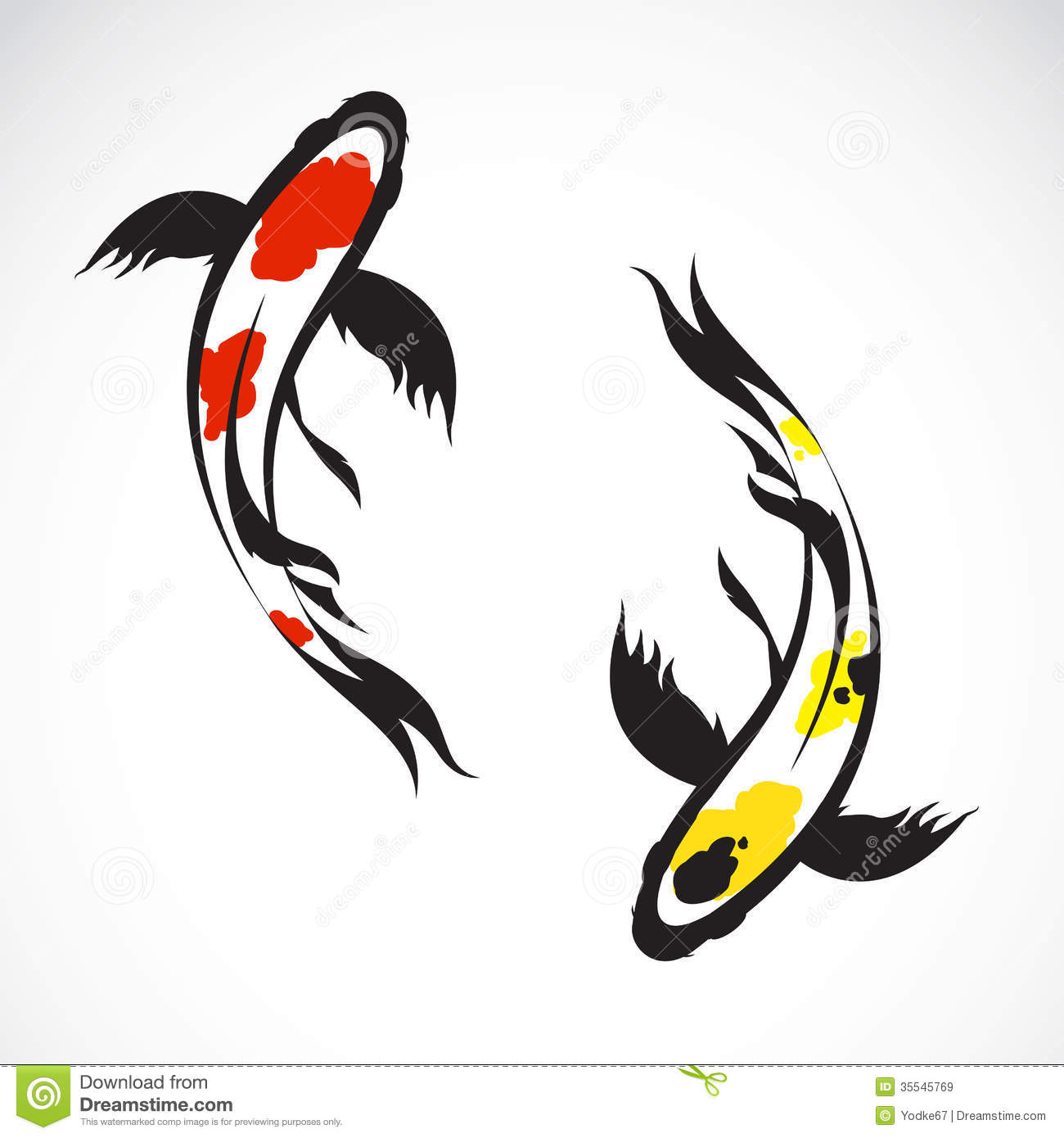 vector image of an carp koi royalty free stock images image 35545769 marching band drum major clipart drum major clip art images