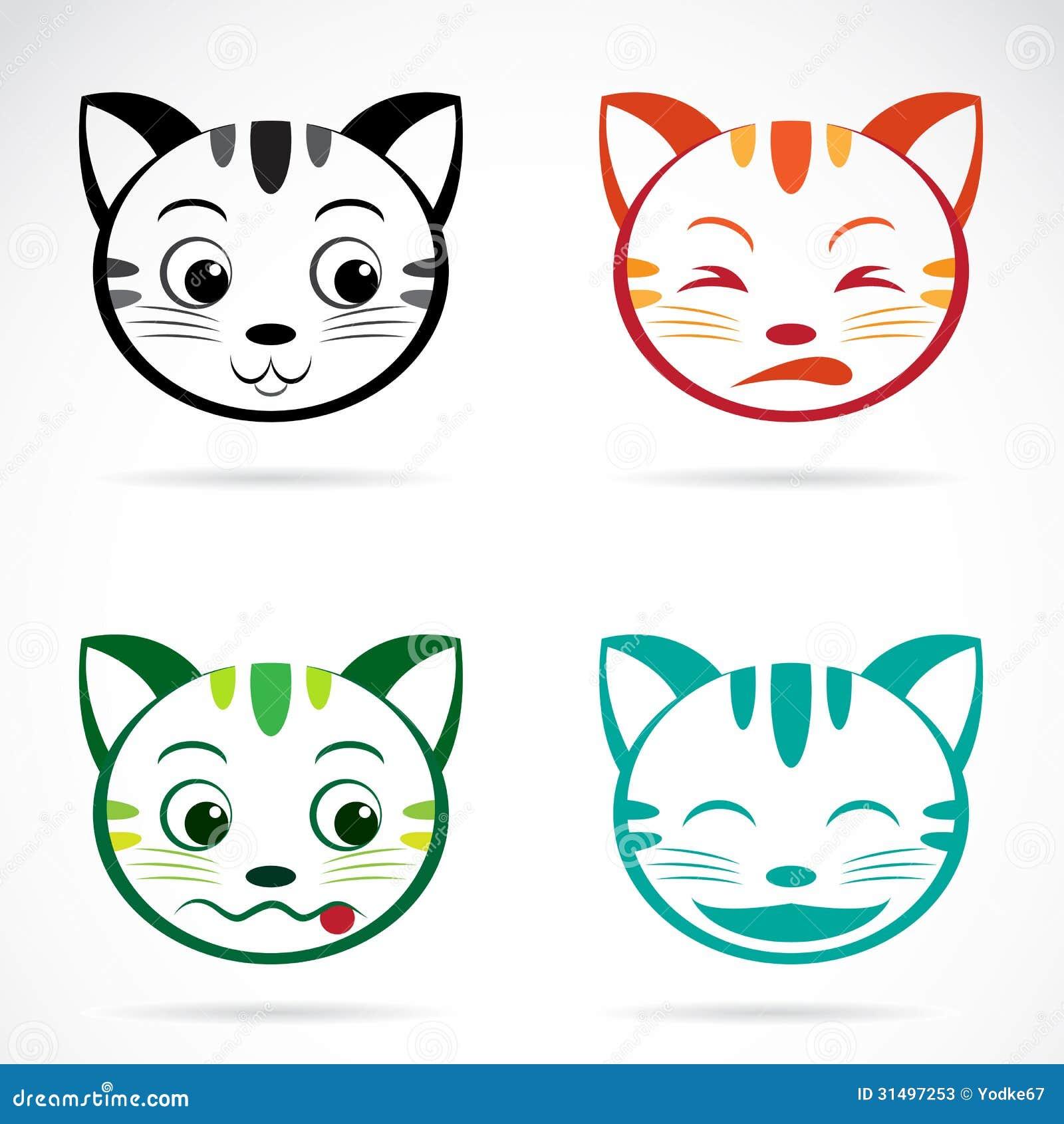 Рисуем мордашки котиков