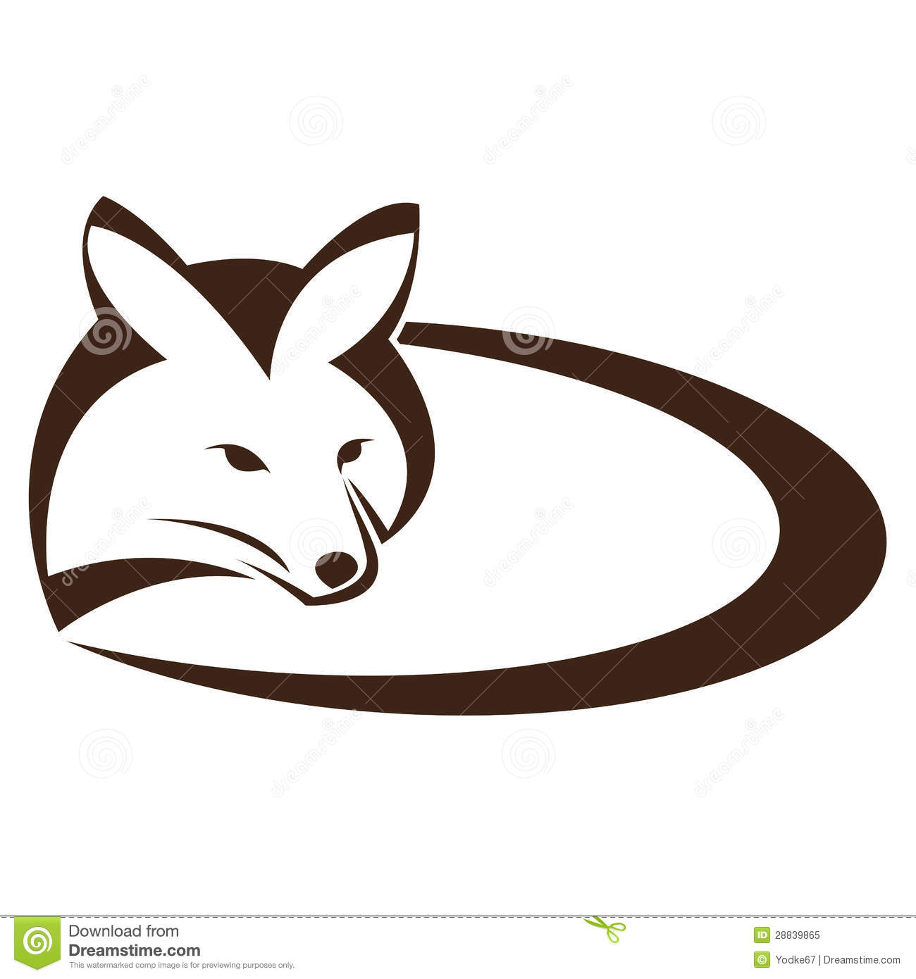 vector image of an fox royalty free stock photo image free wolf paw clipart free wolf clipart black and white