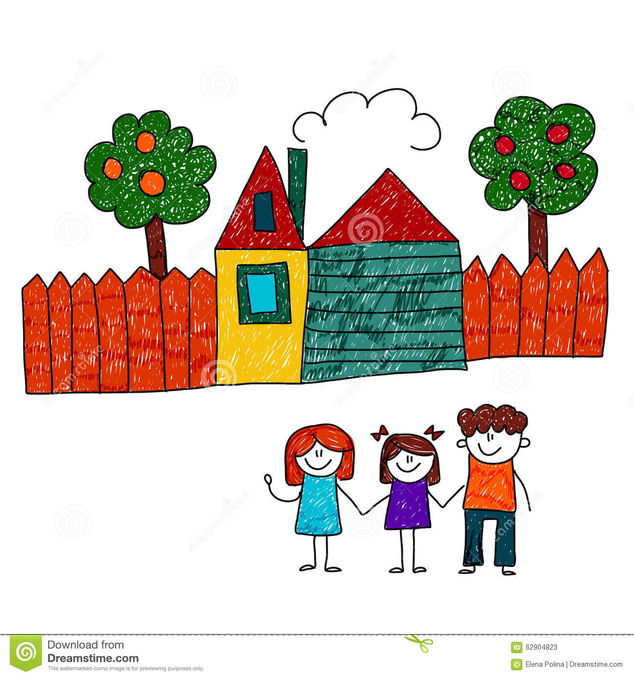 Garden drawing for kids - Garden Drawing Pictures For Kids Magielinfo