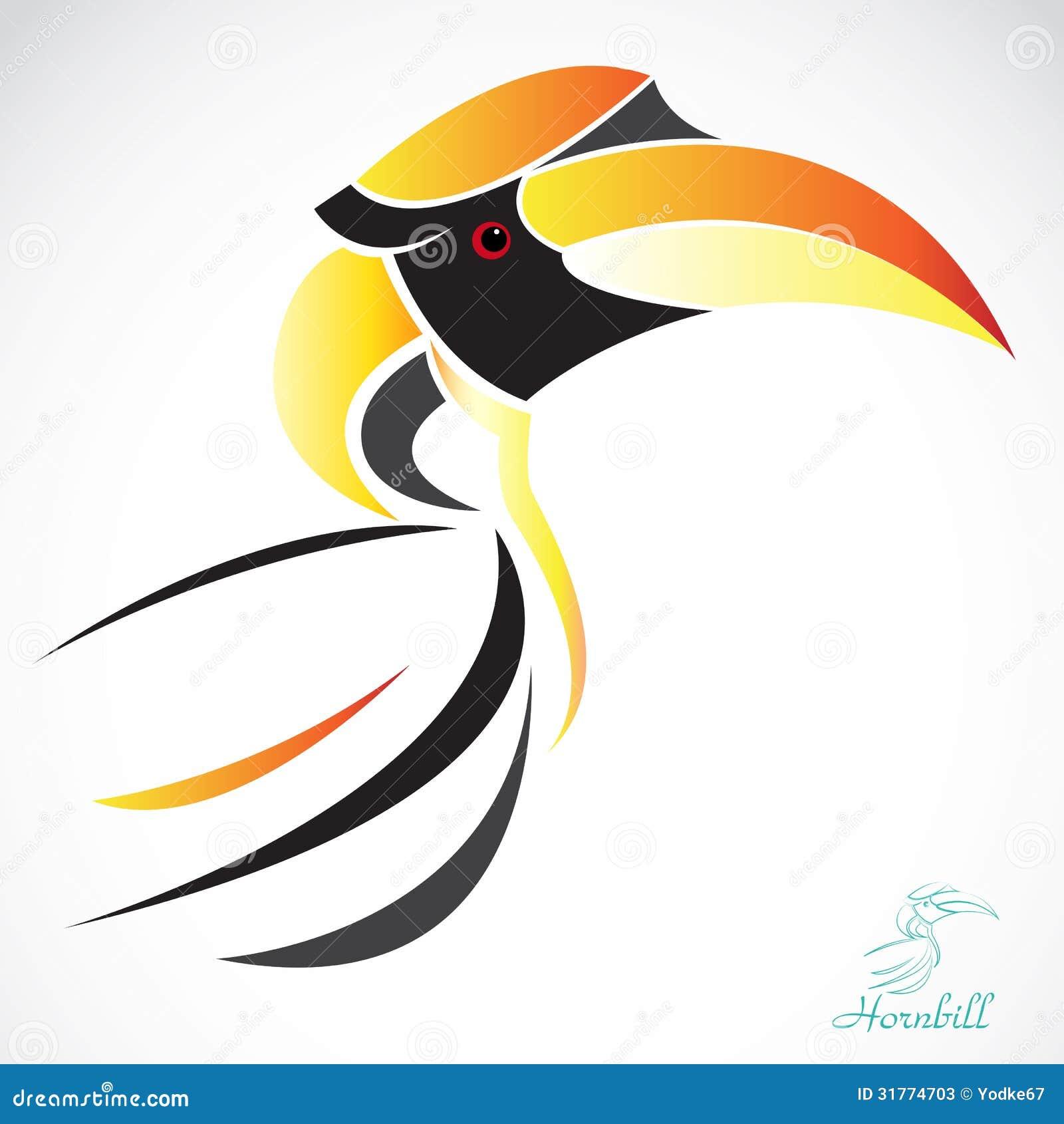 Vector Image Of An Hornbill Stock Photos Image 31774703