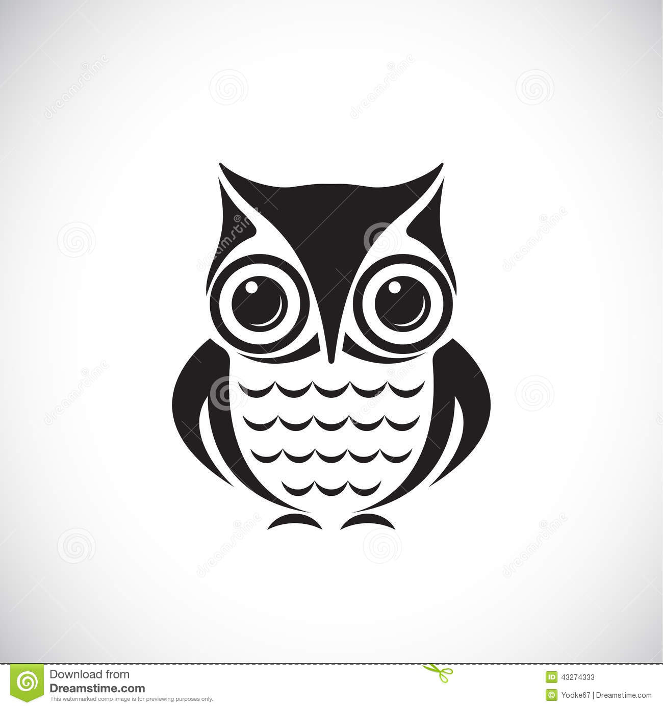 Vector Images Of Owl Stock Vector - Image: 43274333