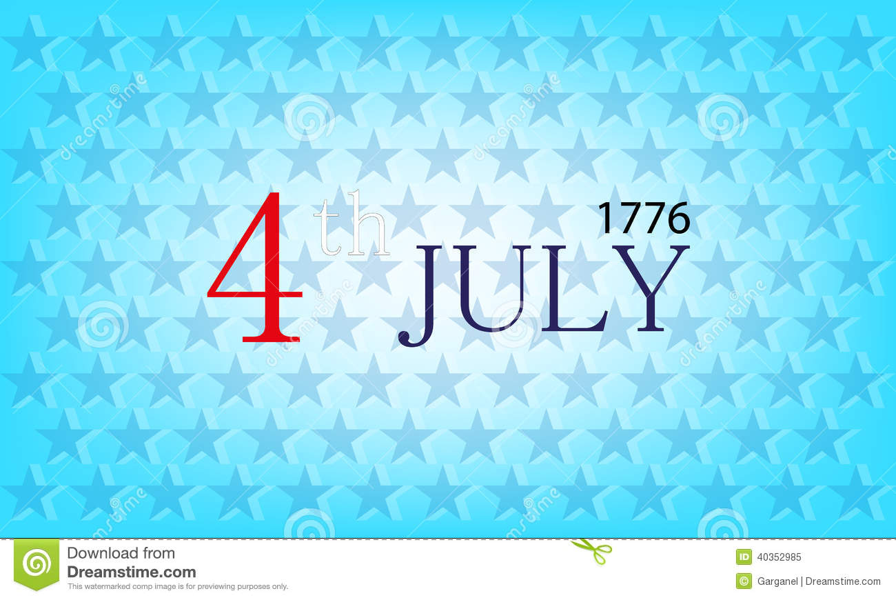 Vector independence day background stock vector image for Th background color