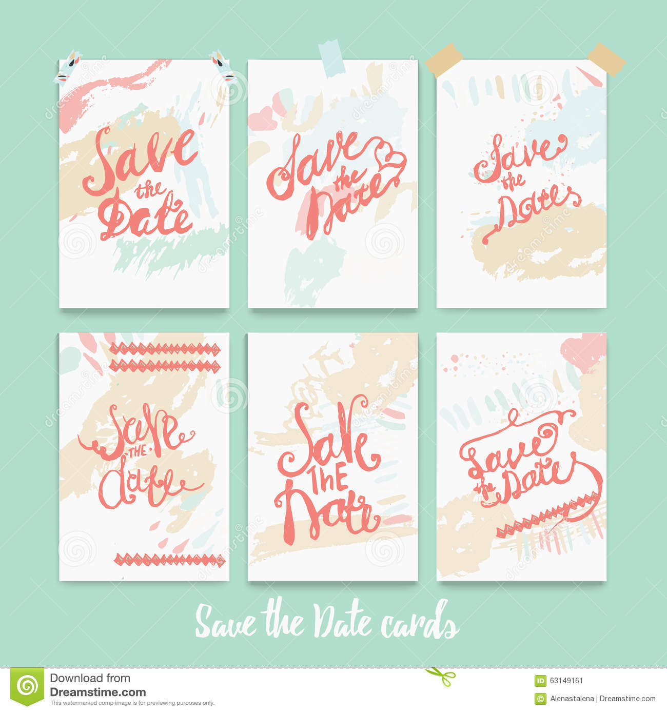 Ink dating date tags