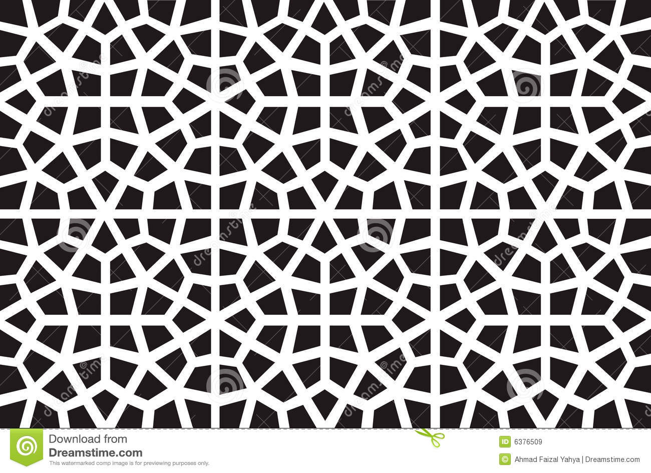 Exceptional Vector Islamic Pattern