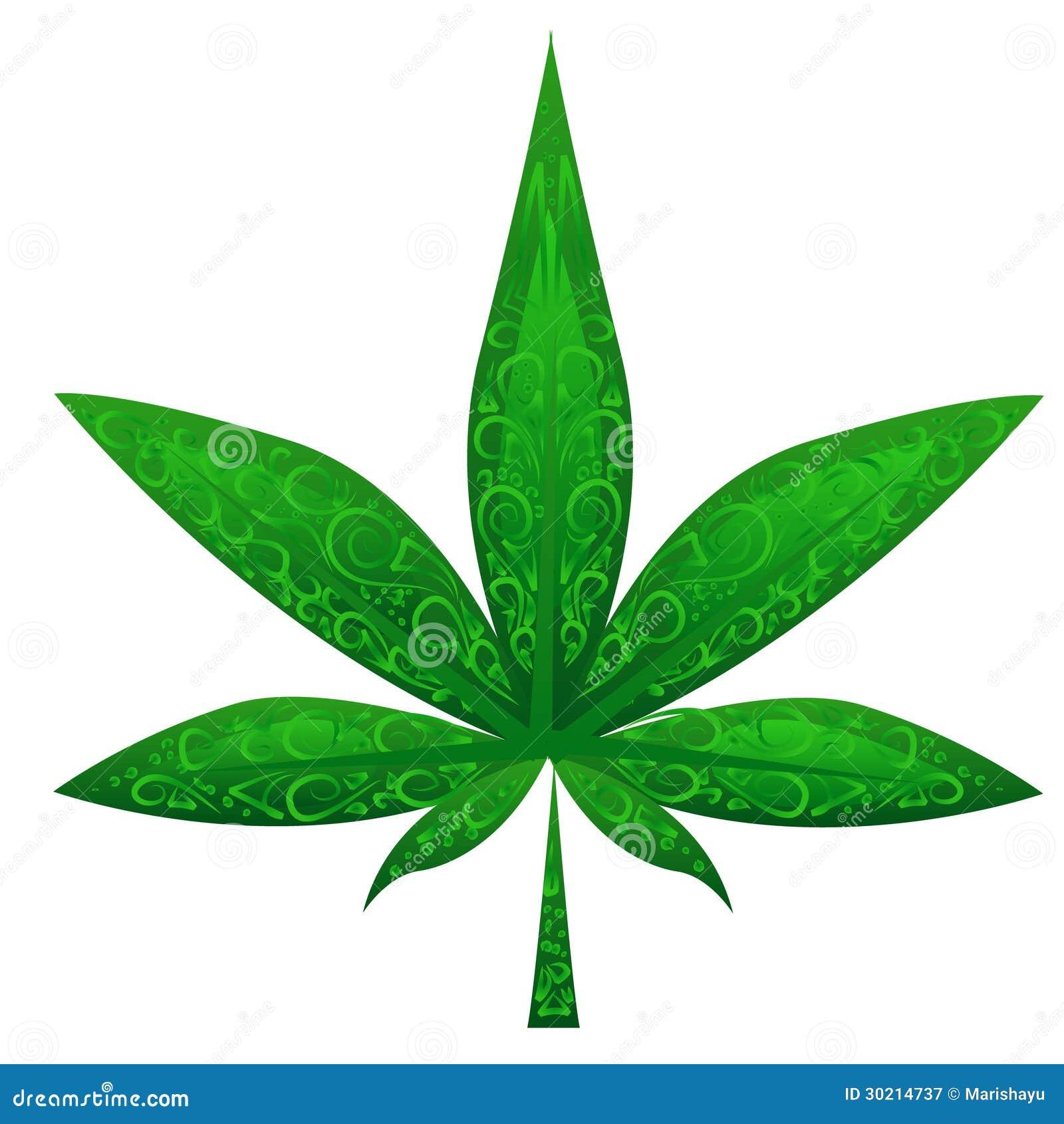 Marijuana Leaf Stock Illustrations Royalty Free Gograph