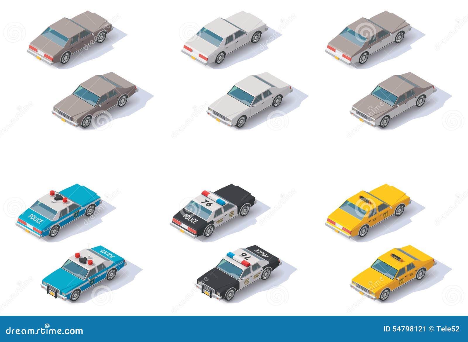 Isometric Classic Car