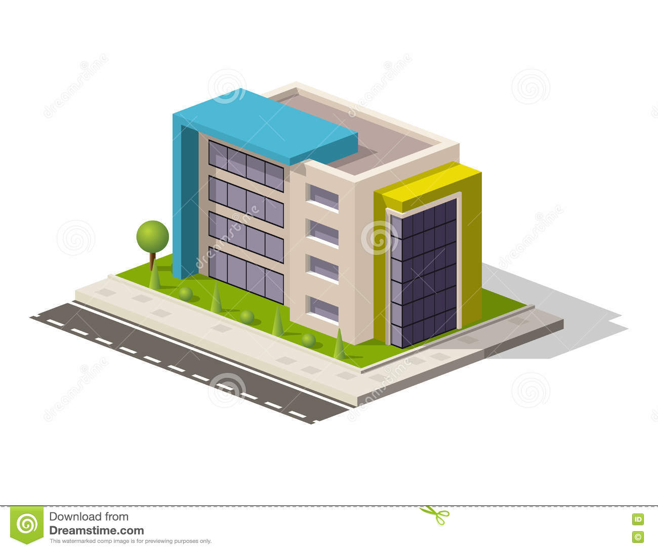 Vector Isometric Icon Or Infographic Element Representing