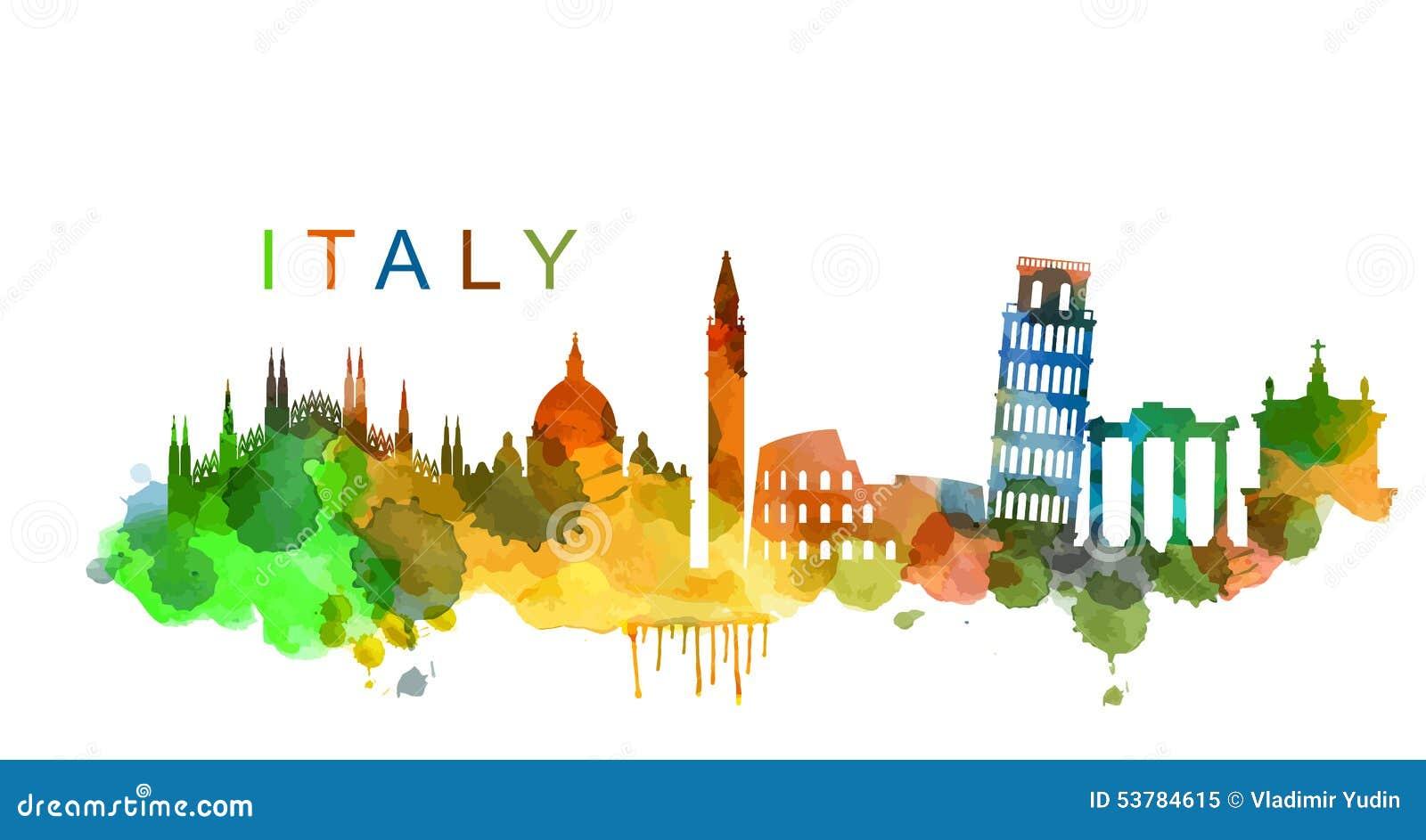 vector italy stock vector image 53784615 roman colosseum clipart Colosseum Cartoon