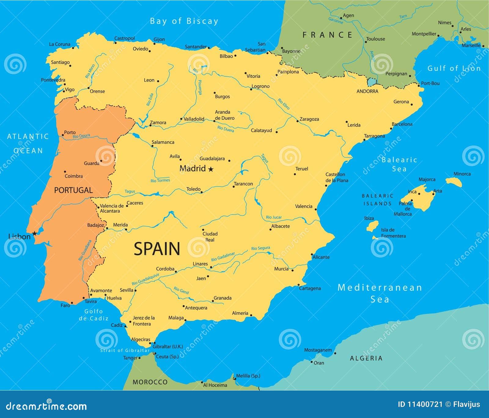 Isimsiz Kaart Portugal