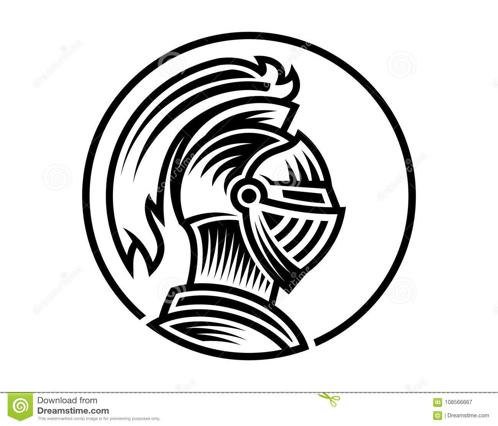 Knight Logo Stock Images, Royalty-Free Images & Vectors ...  Knights Helmet Logo