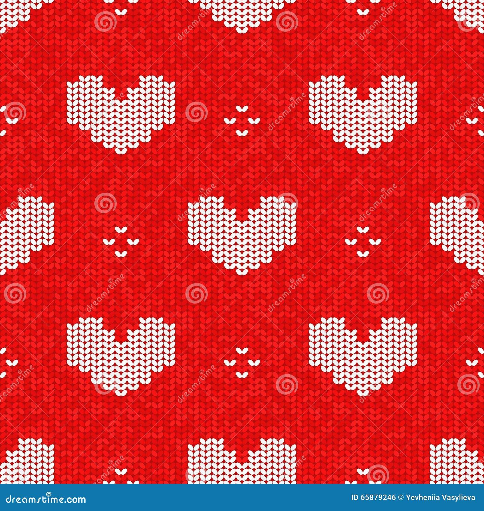 Knitting Vector Pattern :