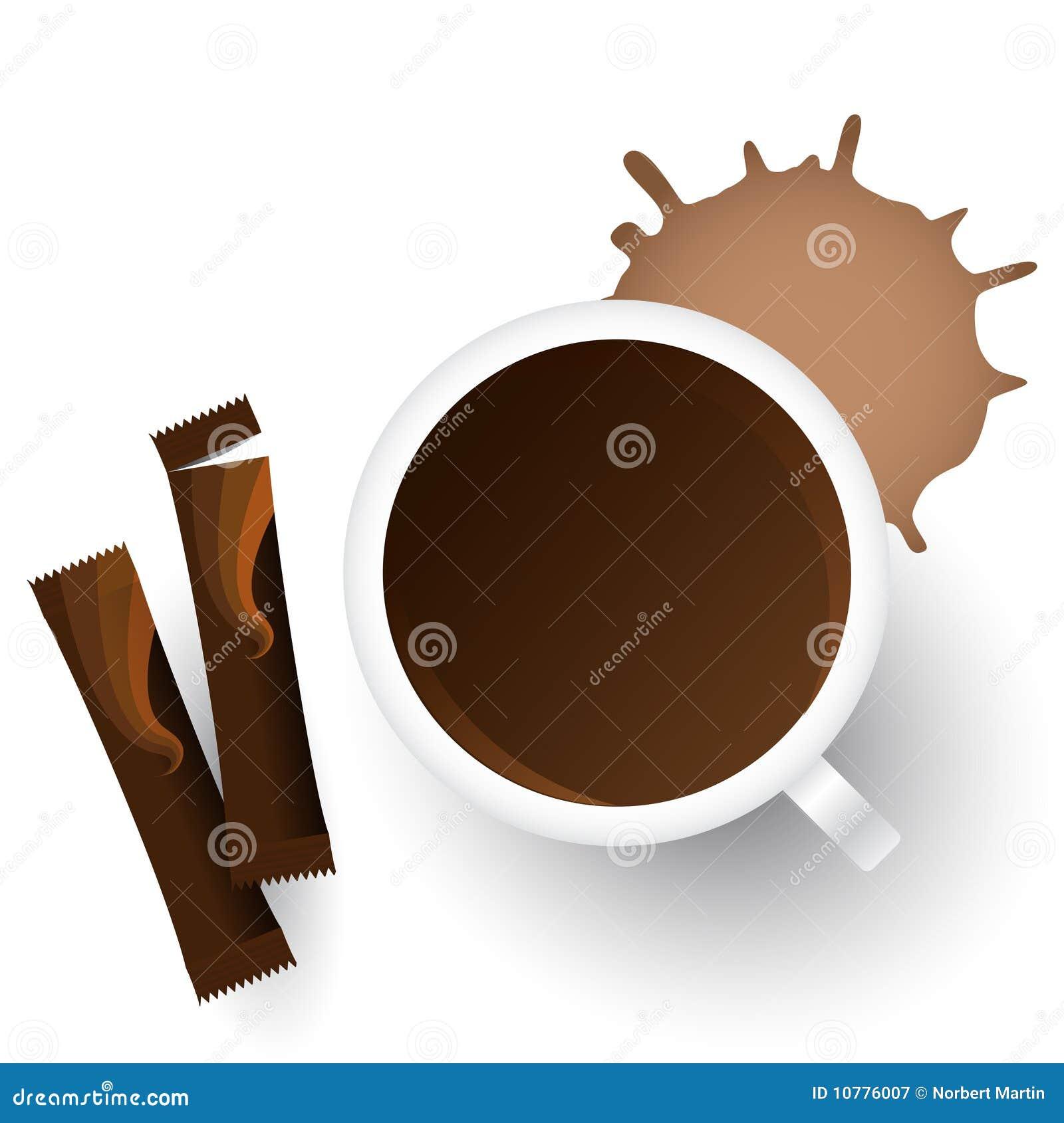 Vector kop van koffie