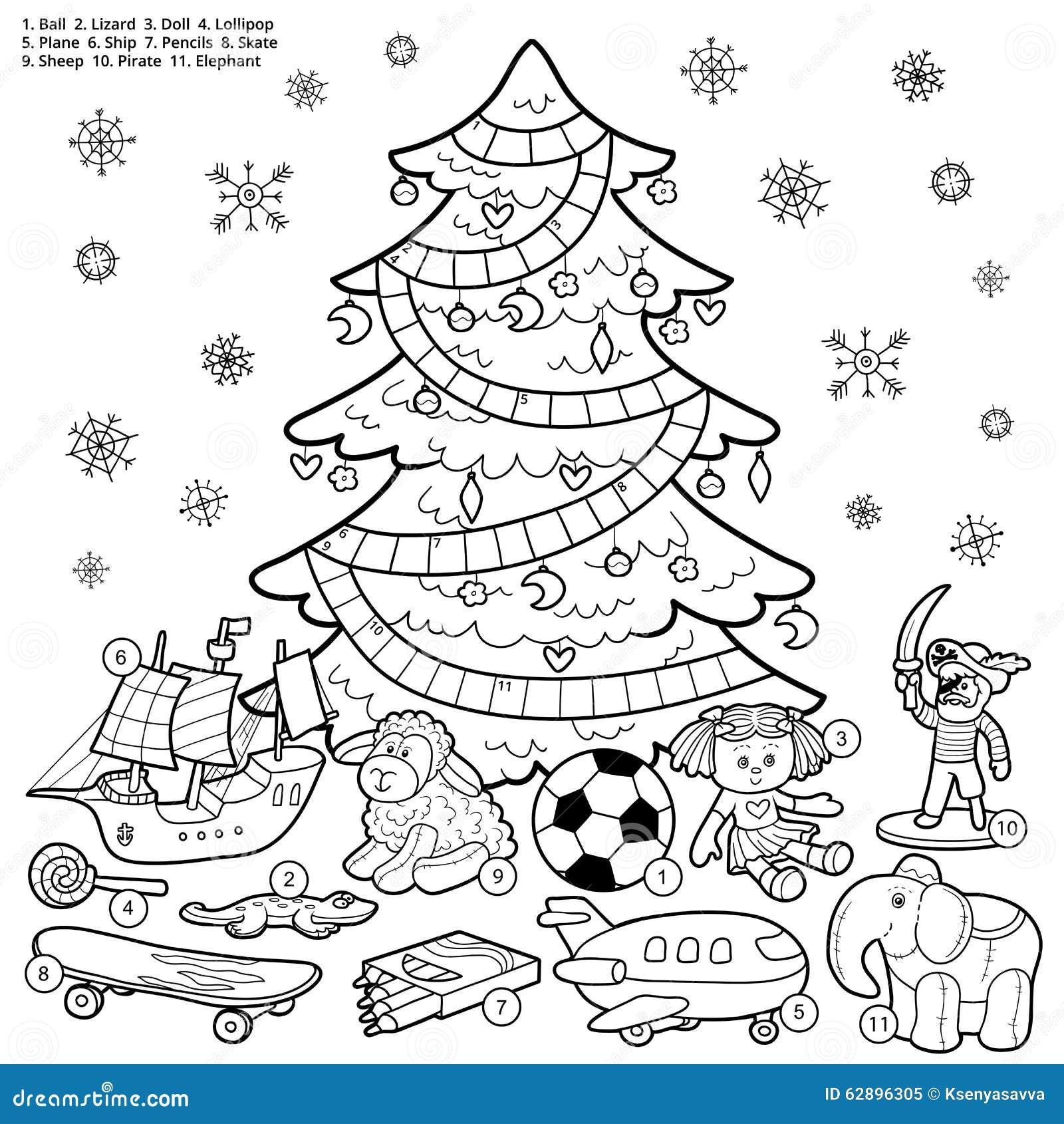 Vector Kreuzworträtsel, Bildungsspiel Für Kinder über Weihnachten ...