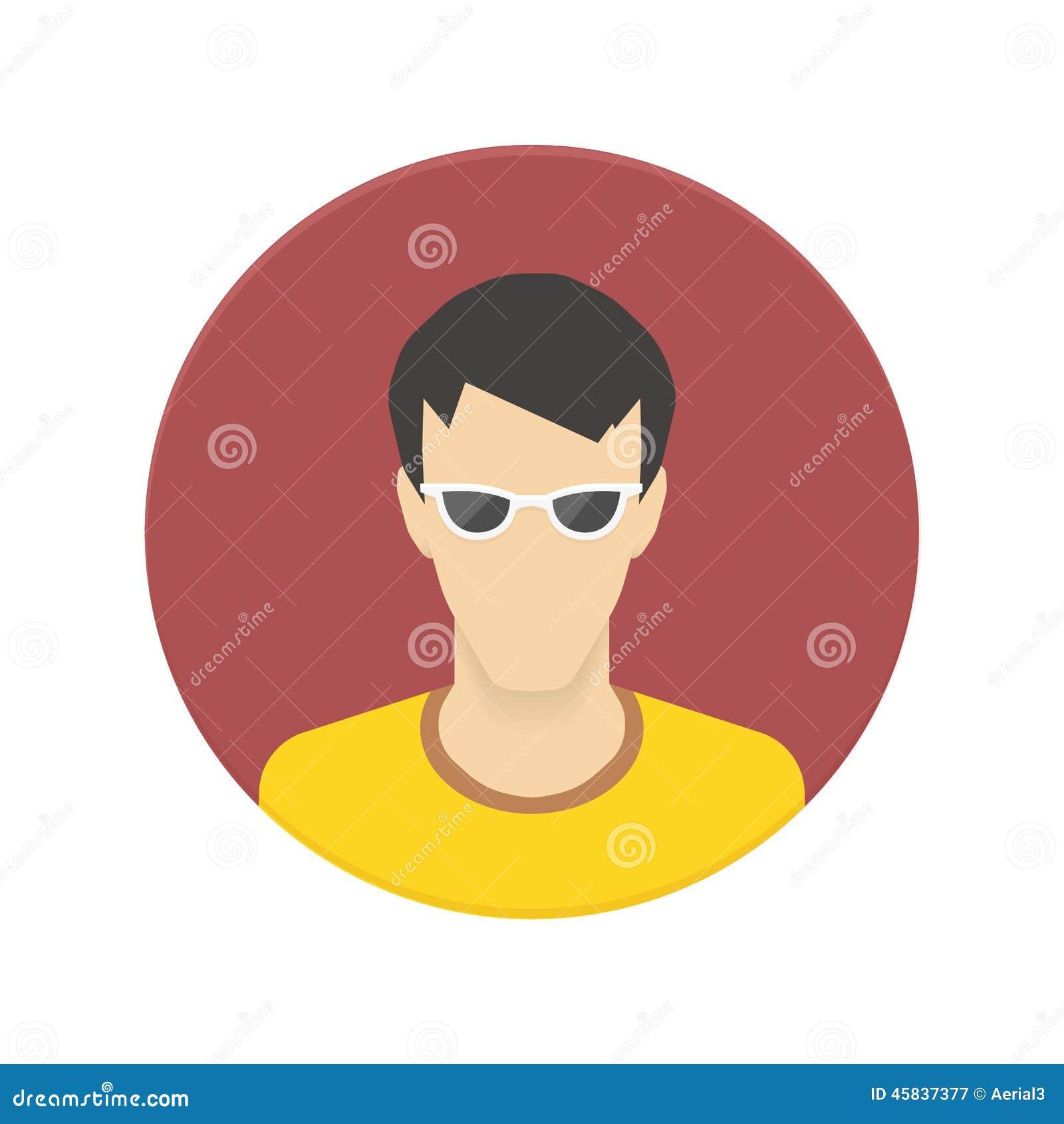 Vector l icona dell avatar dell utente per il sito Web o il cellulare