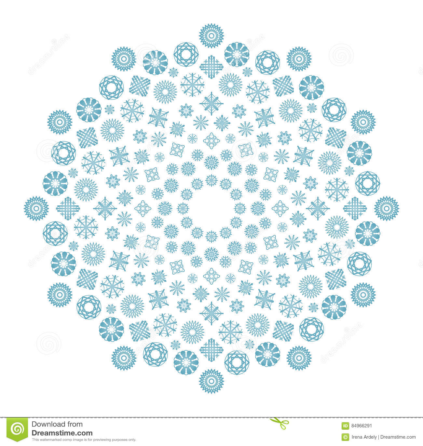 10 Mandala Sull Inverno Da Colorare