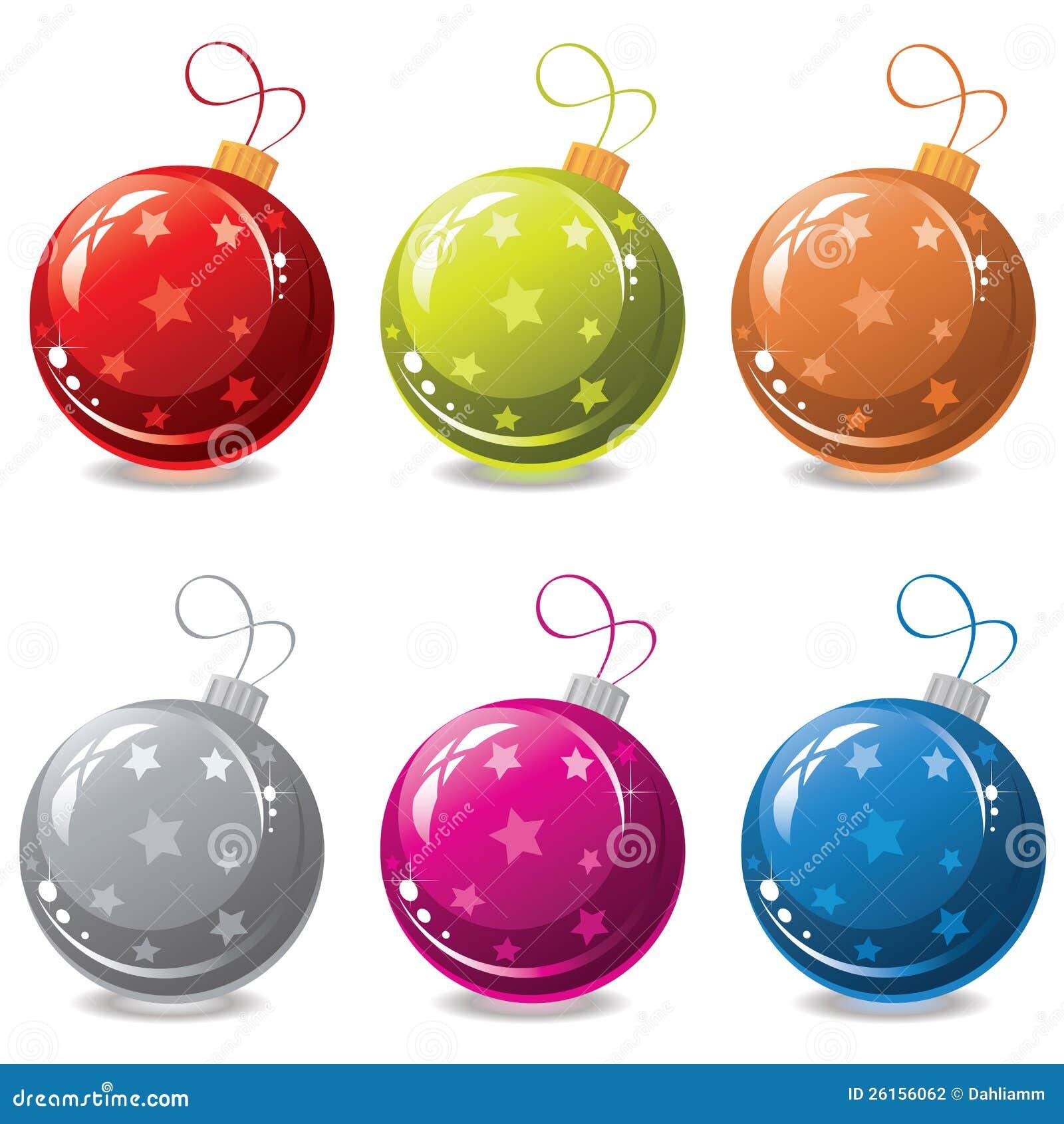 Vector las bolas de la navidad fotograf a de archivo - Bolas de navidad ...