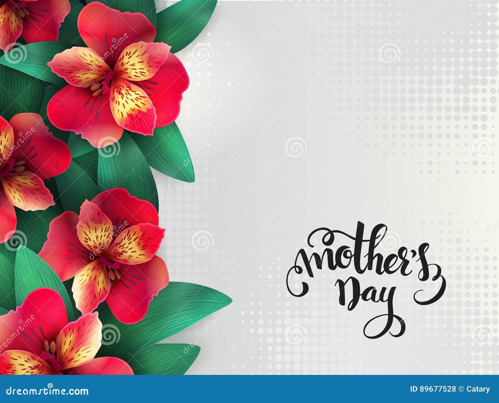 Encantador Madres Feliz Marco Del Día De La Foto Viñeta - Ideas ...