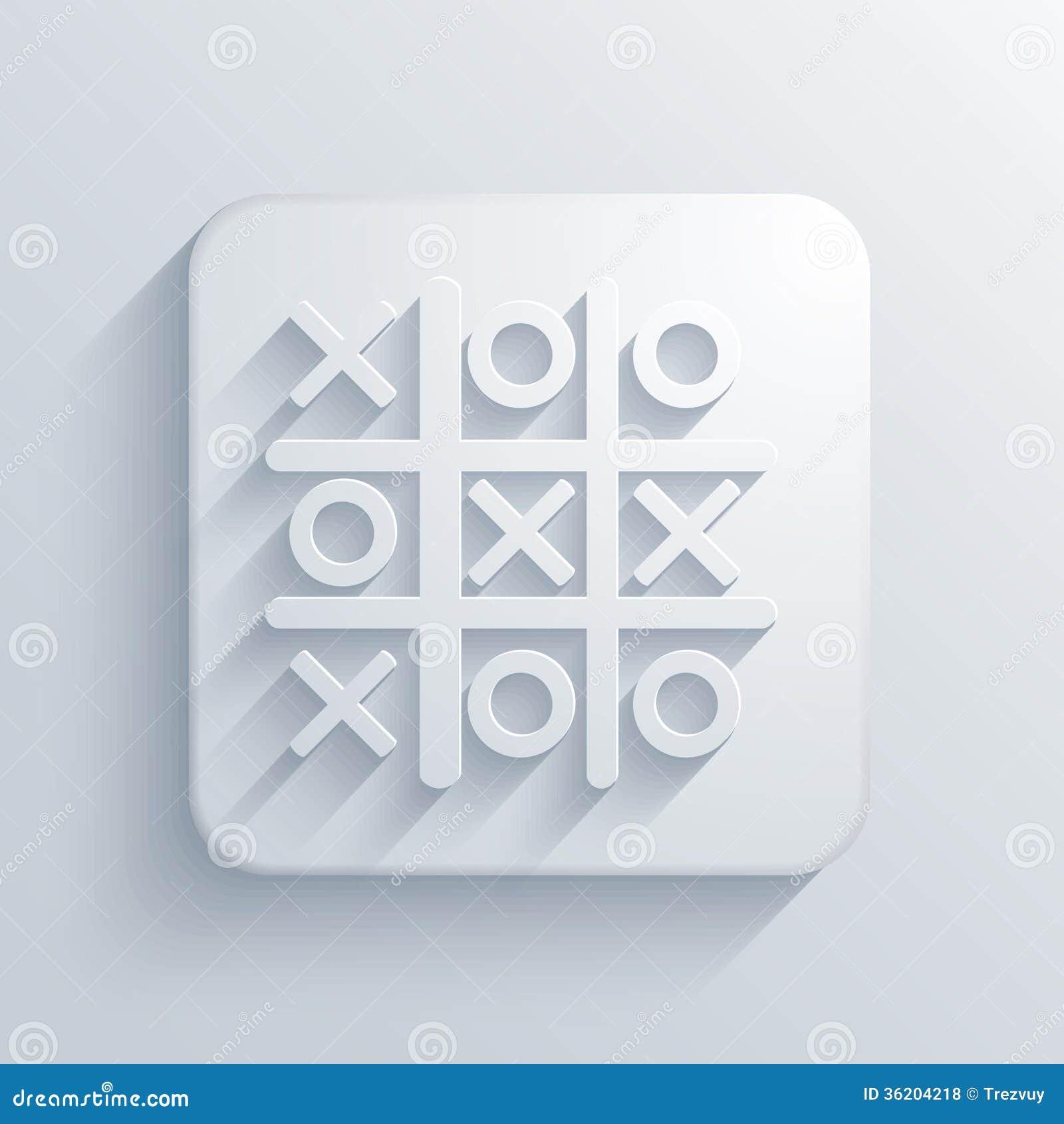 Vector licht vierkant pictogram. Eps10