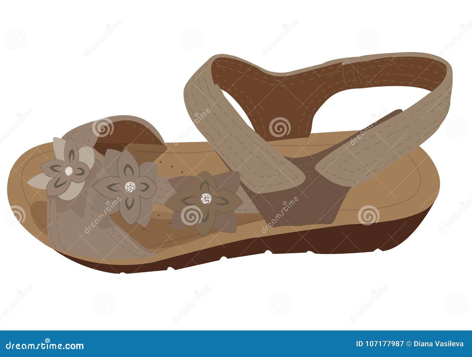 f42b79241 Vector Light Brown Sandals
