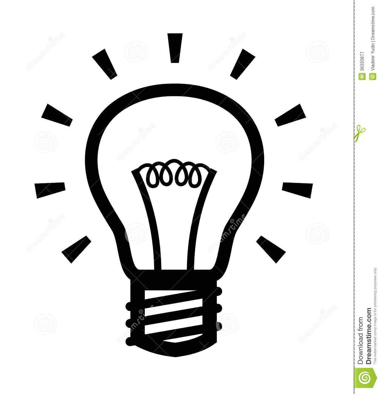 vector light bulb royalty free stock photography image language arts clip art black and white language arts clip art black and white