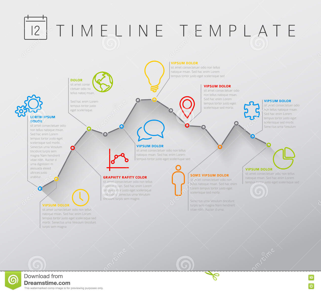 Timeline Graph Template Insssrenterprisesco - Timeline graphic template