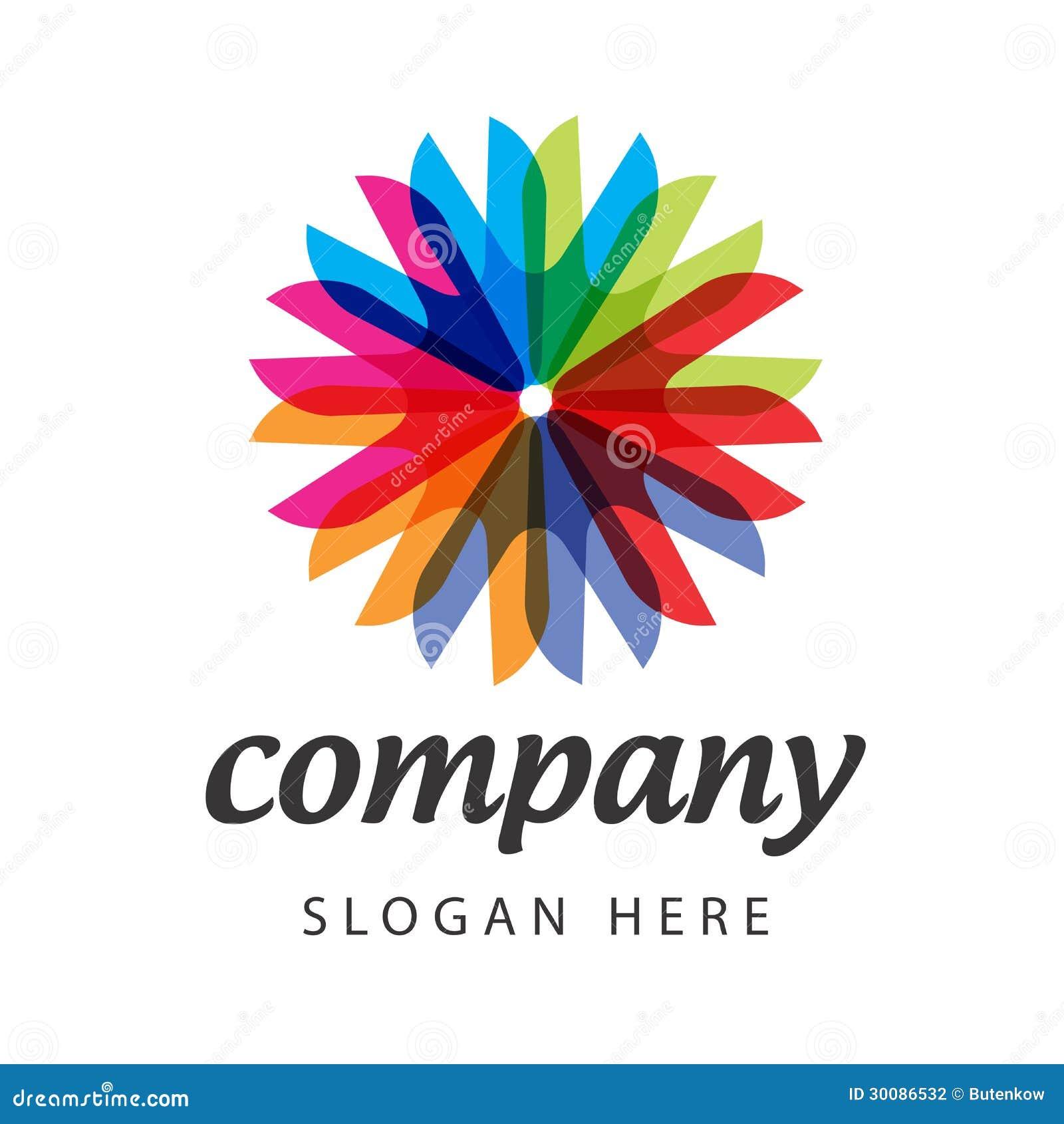 Spectral Flower Logo Stock Vector Illustration Of Discount 30086532