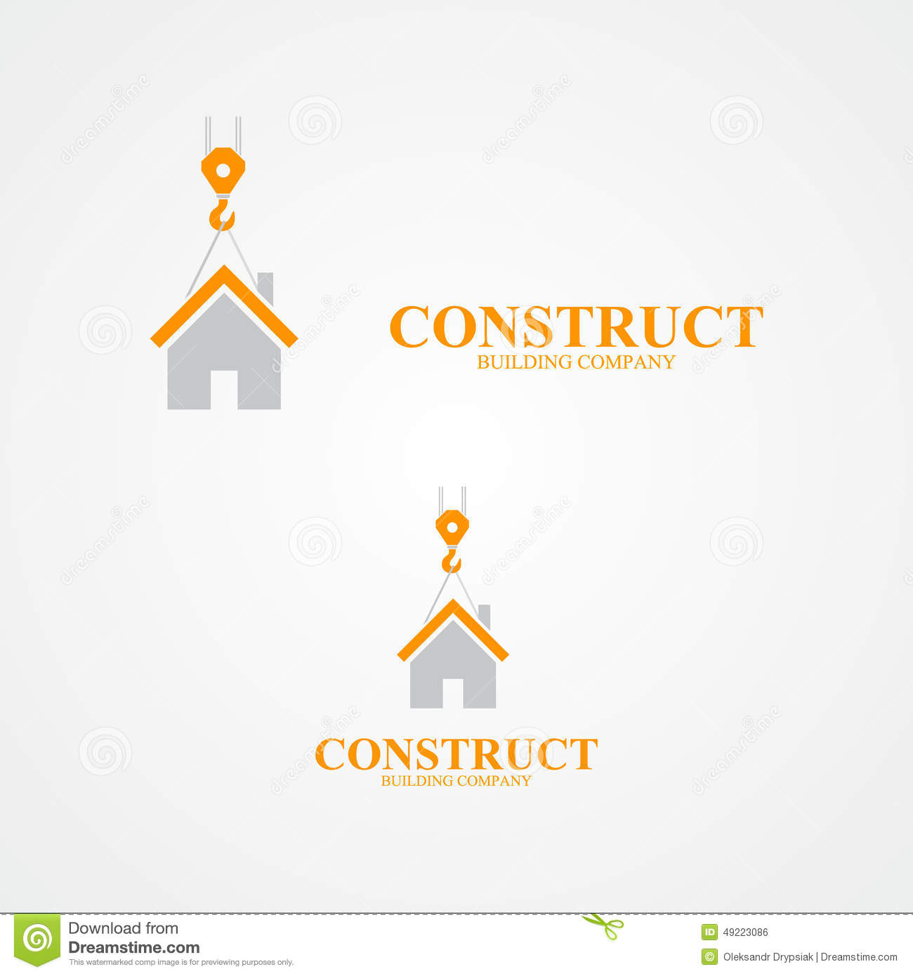 Crane logo construction company stock illustrations 104 crane logo vector logo for construction company vector logo design element with business card template royalty free colourmoves