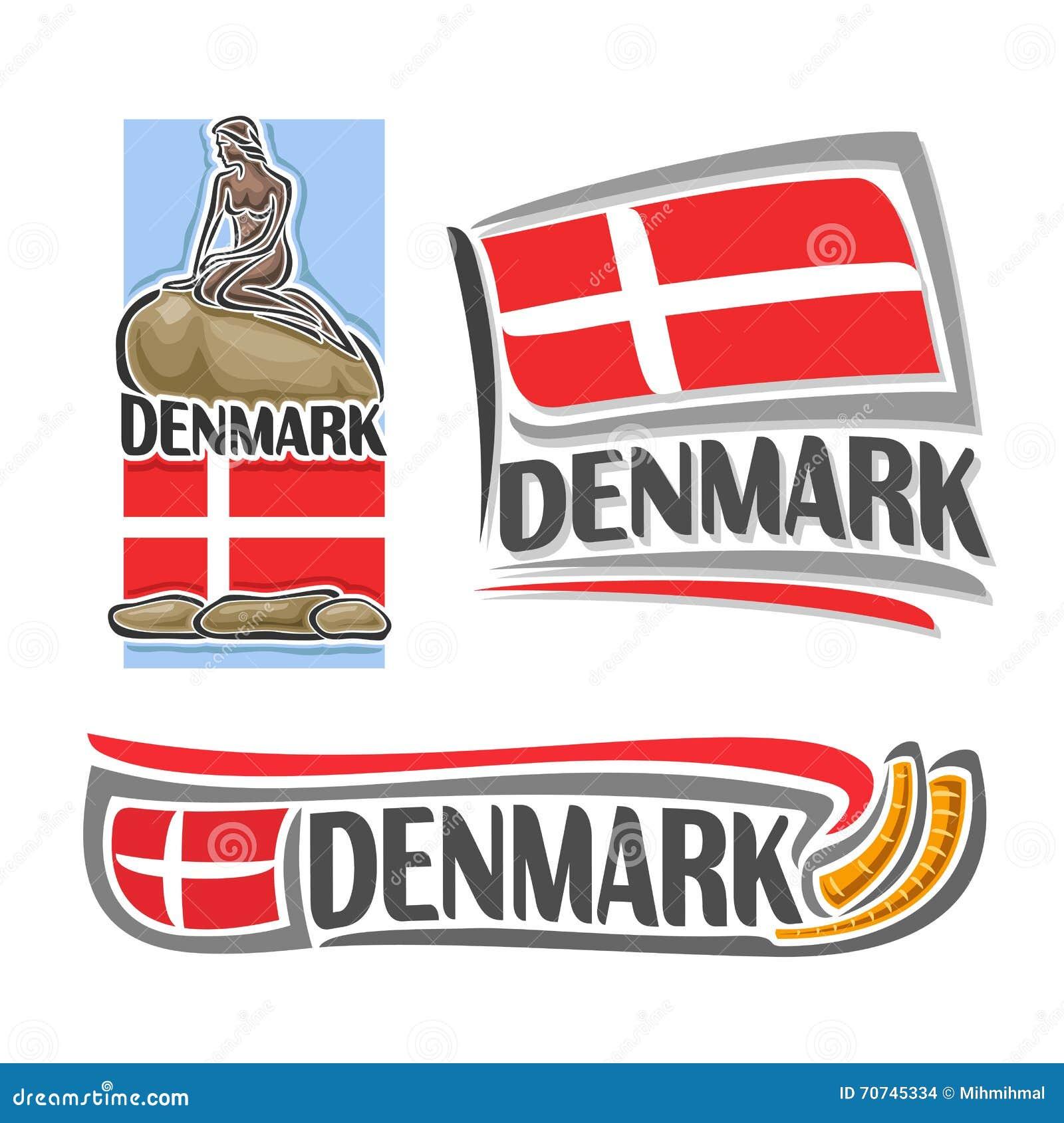 Vector of the logo for Denmark