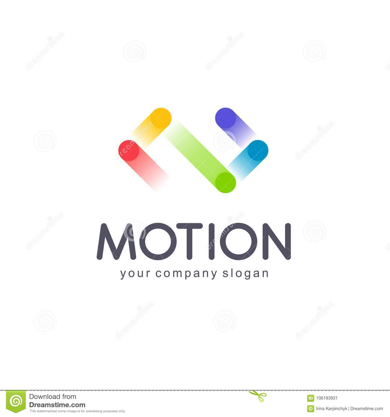 Vector Logo Design For Business. Infinity Sign Stock Vector ...