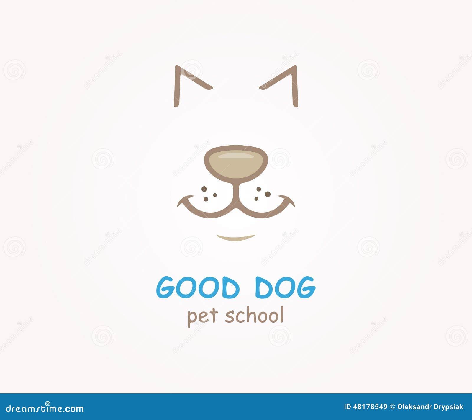 Vector Logo Design Element. Dog, Animal, Pet Stock Vector ...