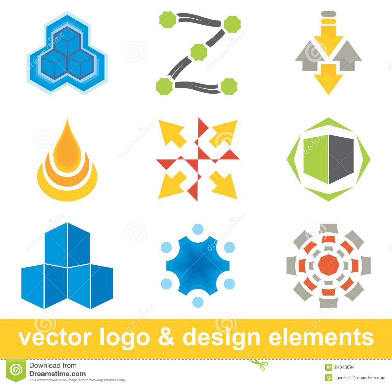 Vector Logo And Design Elements Stock Vector Image 24043094