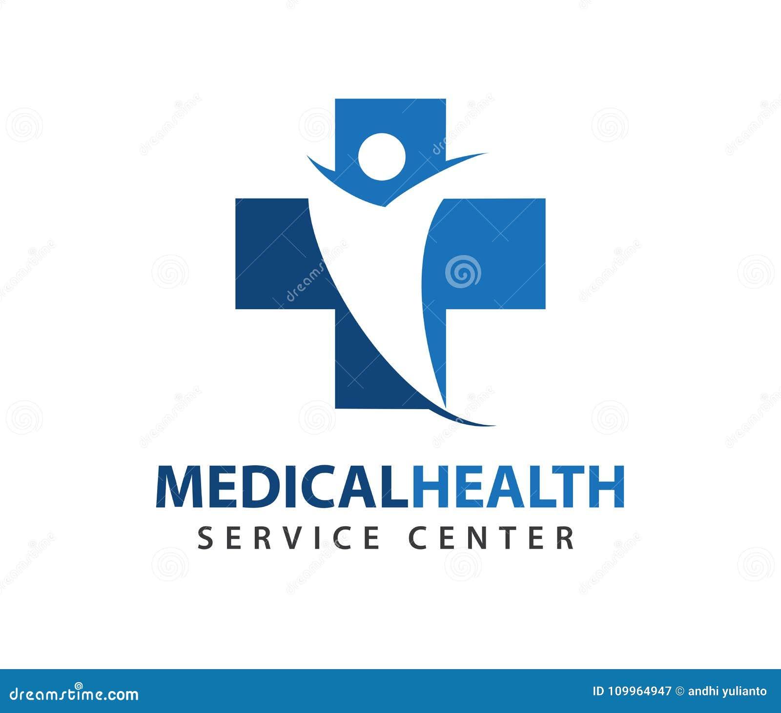 Vector Logo Design For Health Care Family Healthy Clinic Doctor
