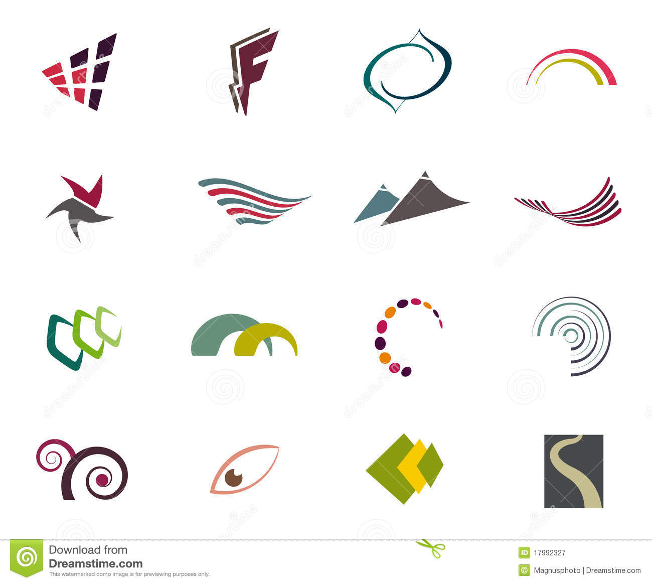 Elements For Design : Vector logo elements stock illustration of graphic