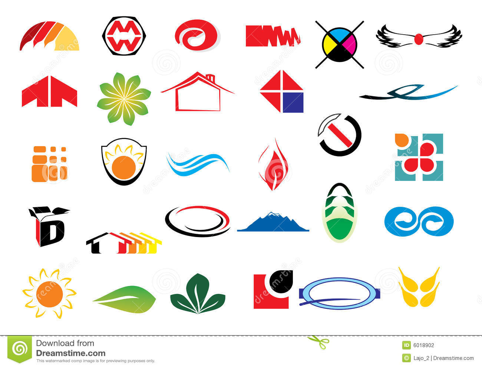 Vector logo elements stock photography image 6018902 for Design logo gratis