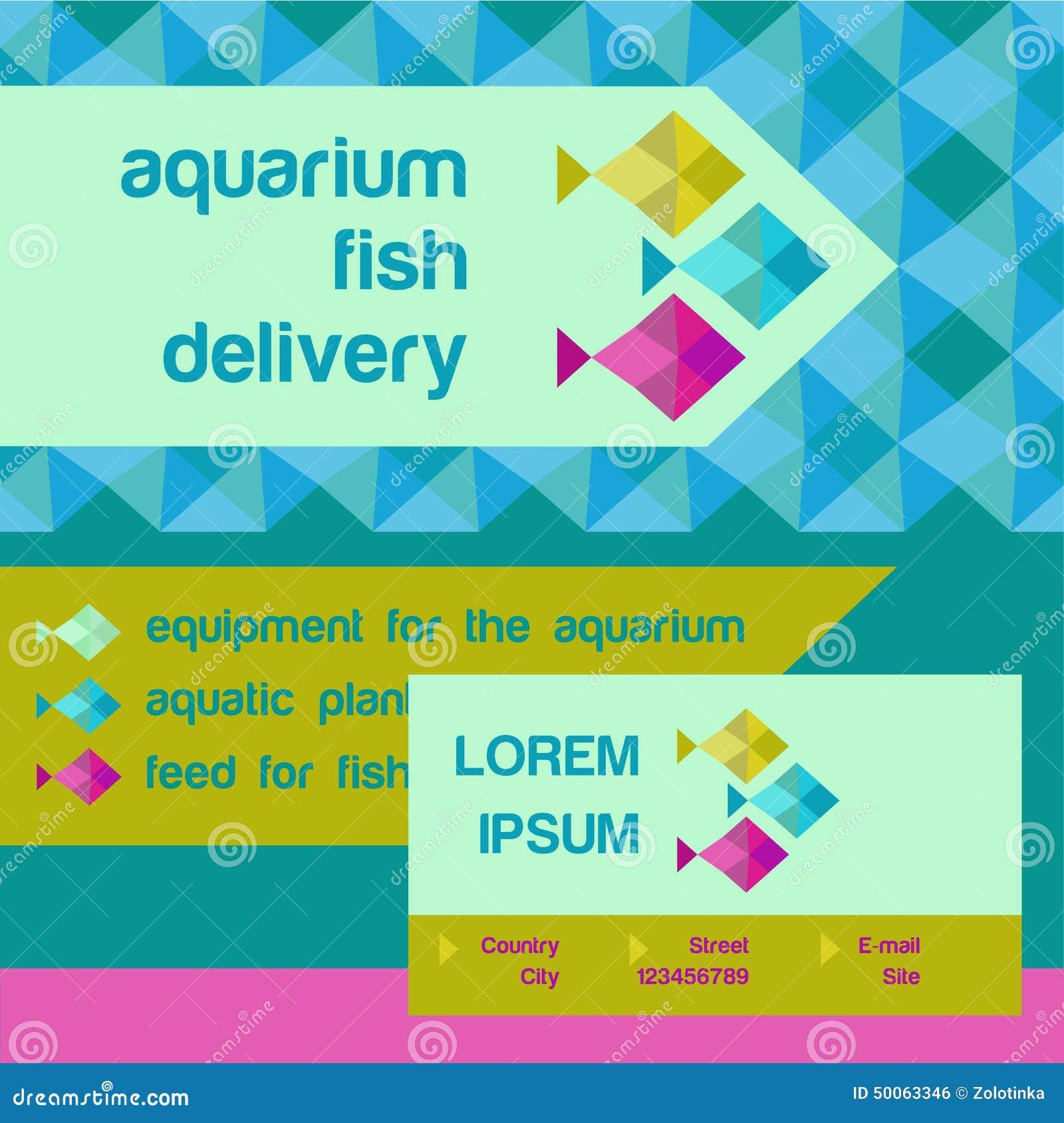 Fish aquarium identification - Vector Logo And Identification Shop Aquarium Fish