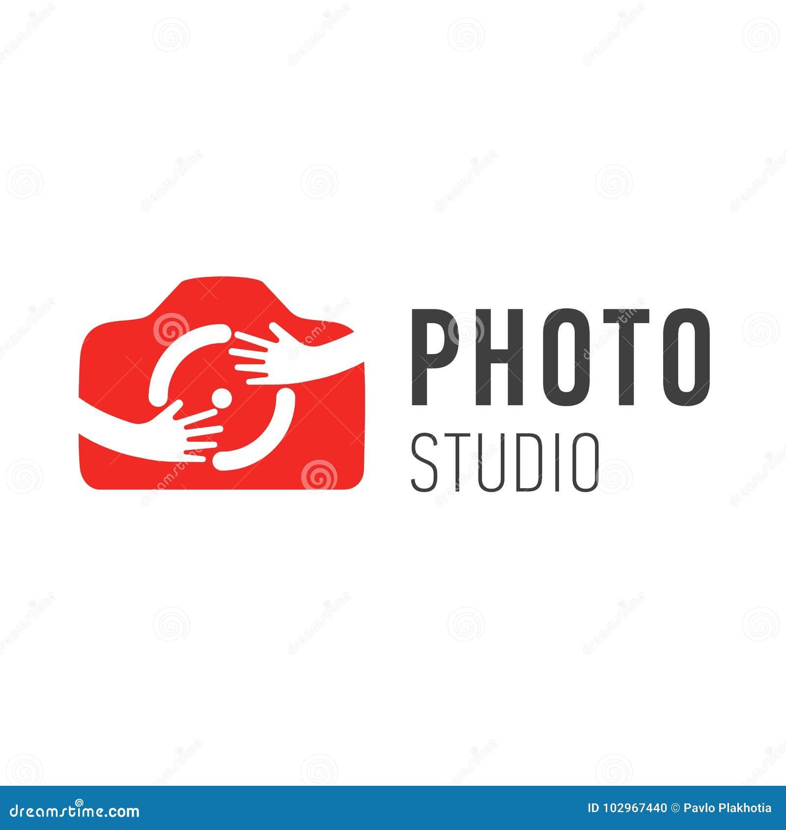 Vector Logo For Photographer Vector Logo Design Photo Camera Symbol