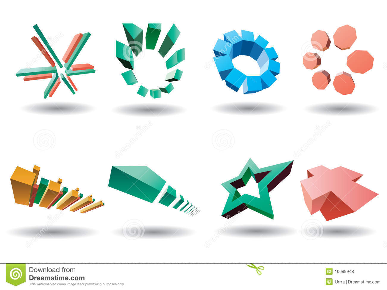 Modern Corporate Vector Logo Stock Images - Image: 23924394