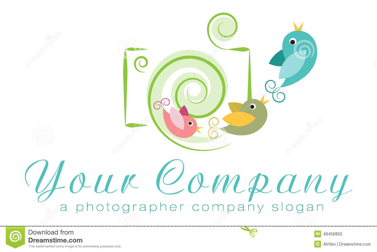 Vector Logo Template, Photo Agency Logo, Independent ...