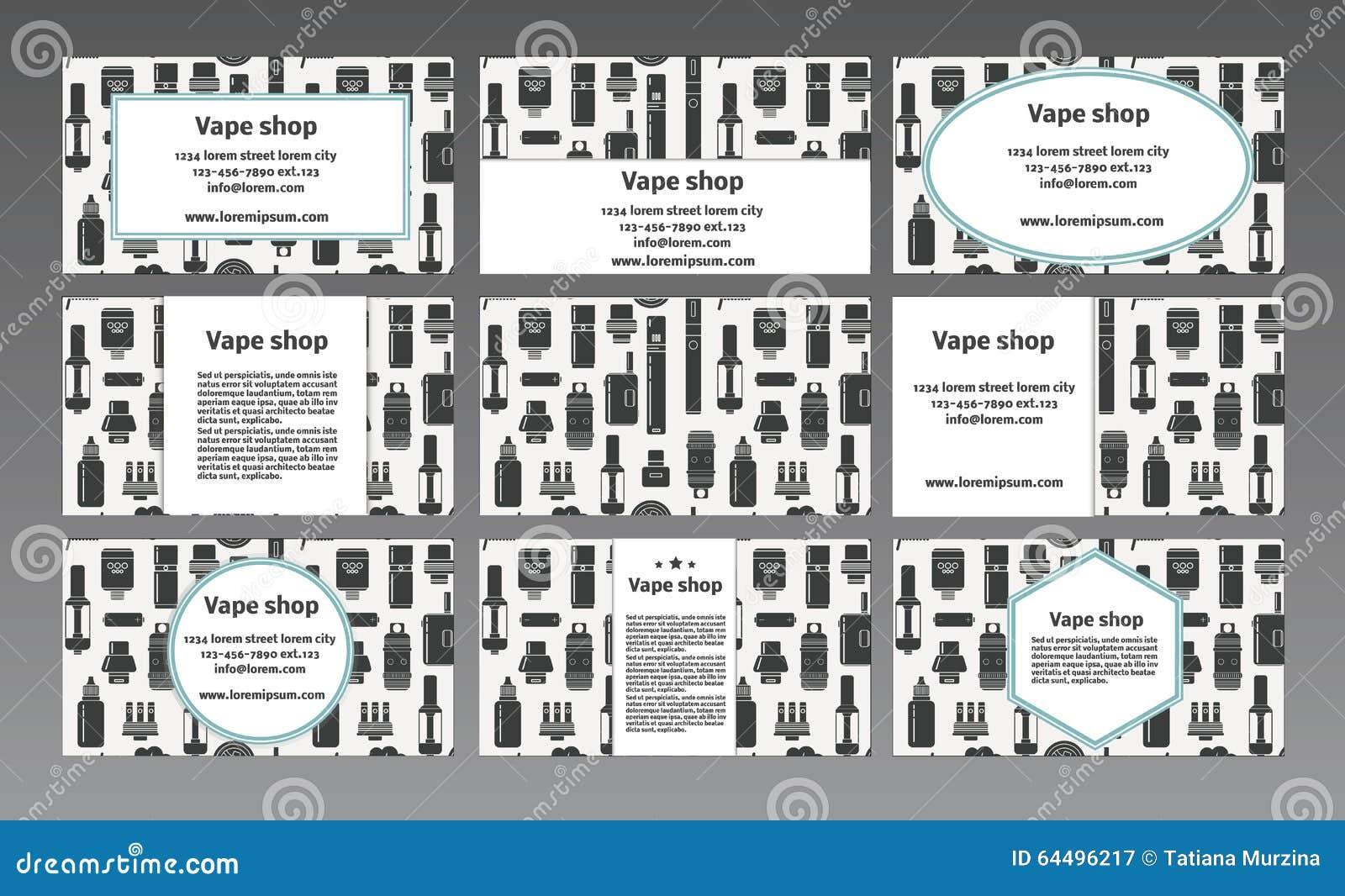 Vapor store business plan