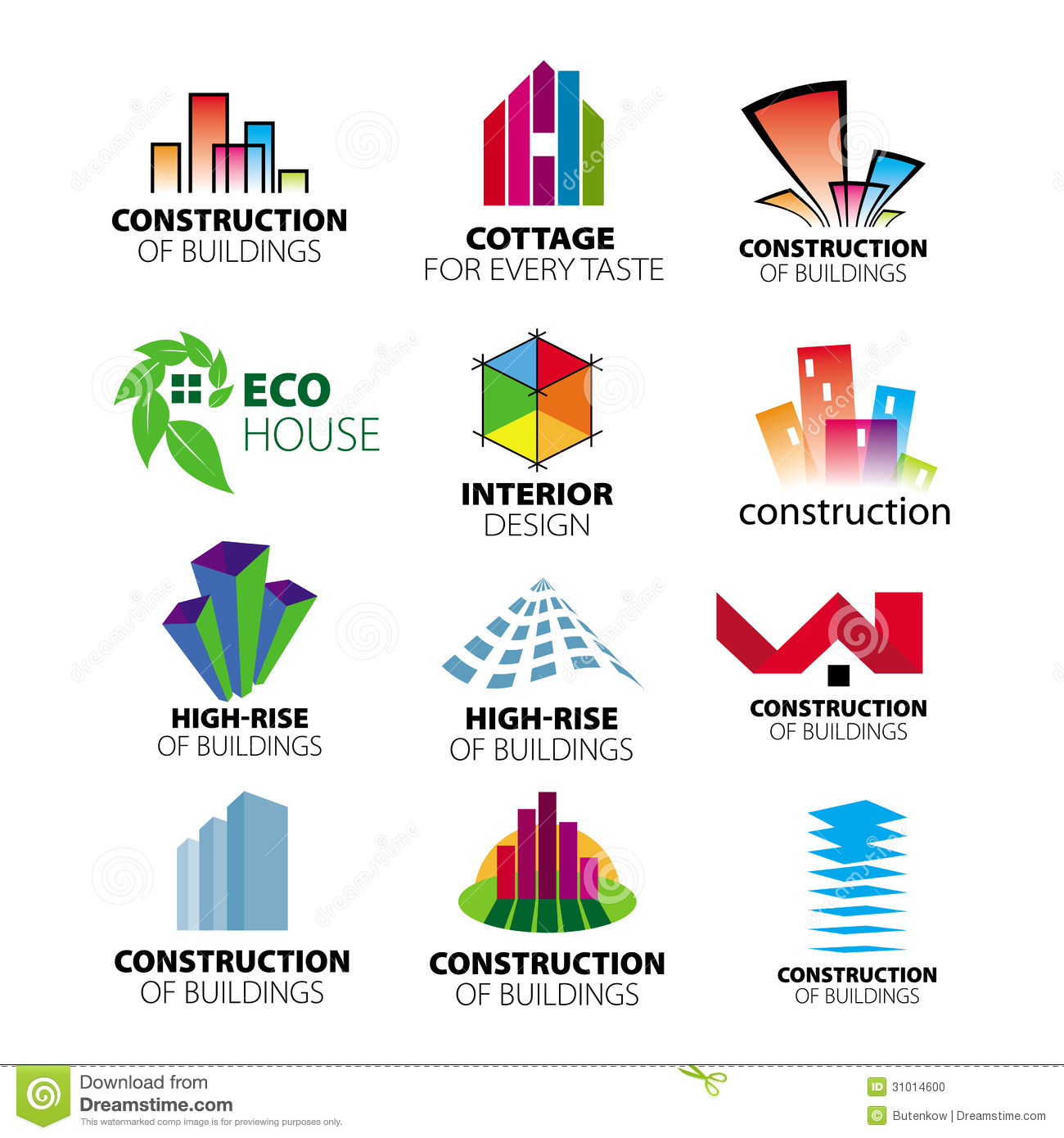 Vector Logos Construction And Home Improvement