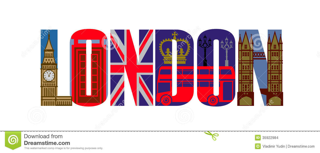 Vector London Icon Set Stock Vector. Image Of English
