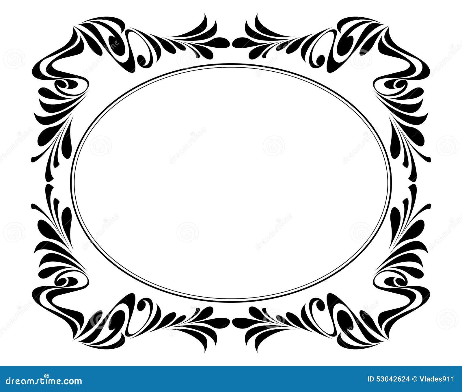 Vector los marcos decorativos ilustraci n del vector - Marcos decorativos ...