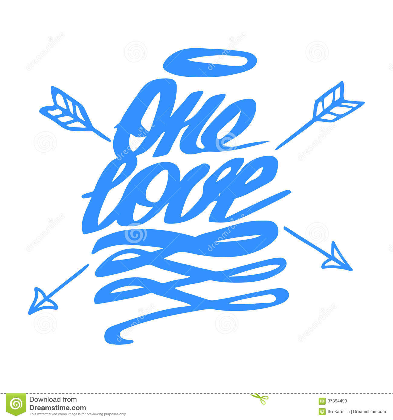 Vector Of Love Happy Valentines Day Hand Lettering Signs Stock