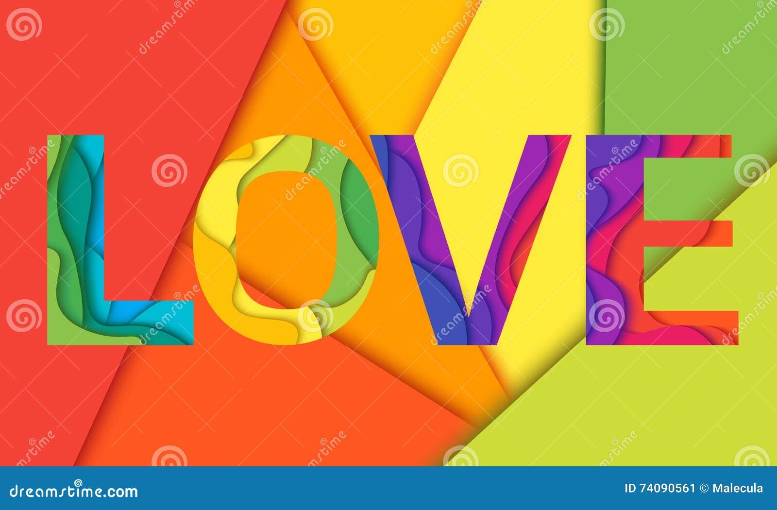 Vector Love Word Stock Illustration Of Fabric