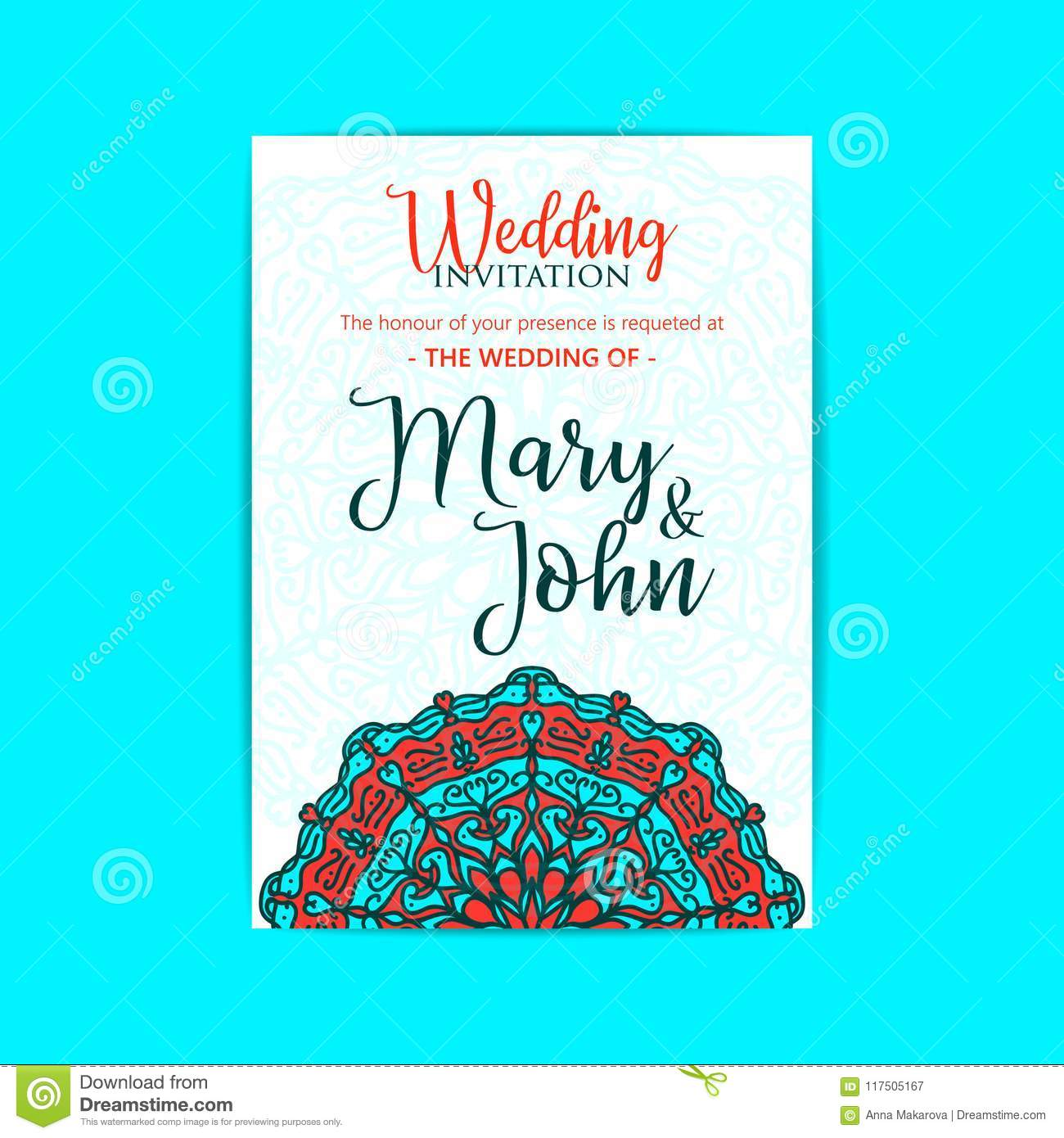 Vector luxury wedding invitation with mandala yoga template stock download vector luxury wedding invitation with mandala yoga template stock illustration illustration of floral stopboris Gallery