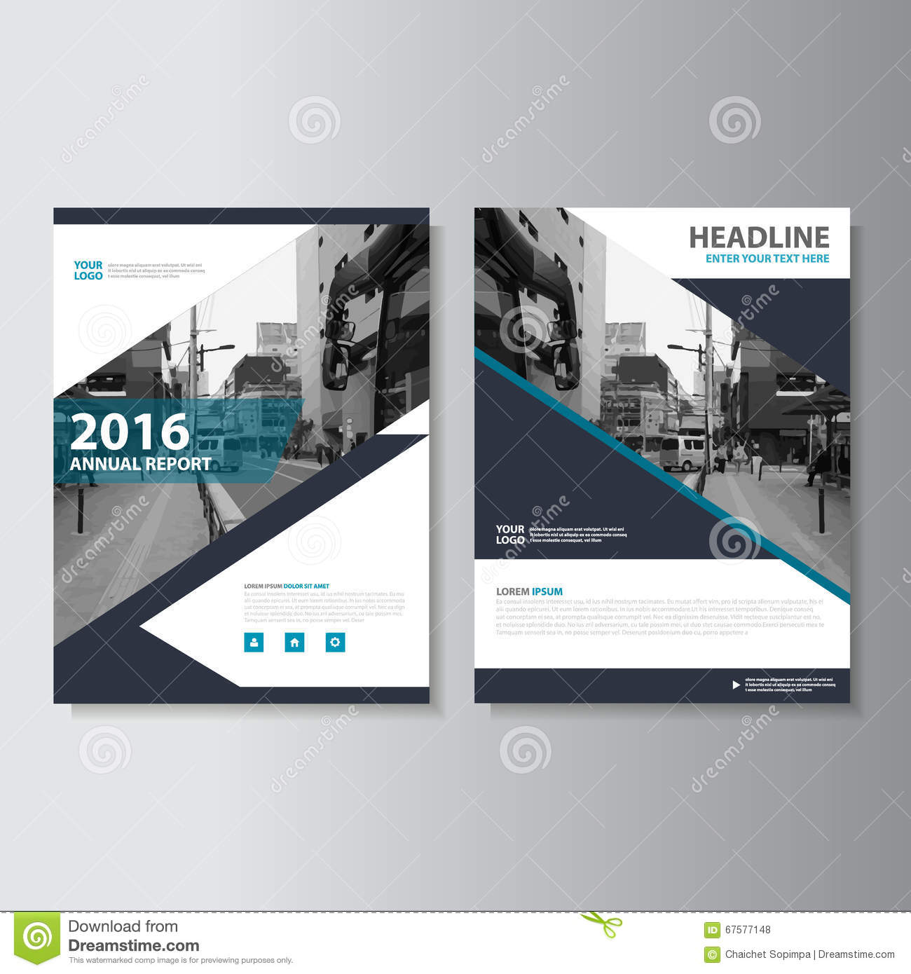 Book Cover Layouts : Vector magazine annual report leaflet brochure flyer